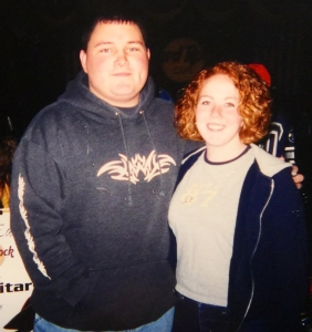 Young David and Lisa